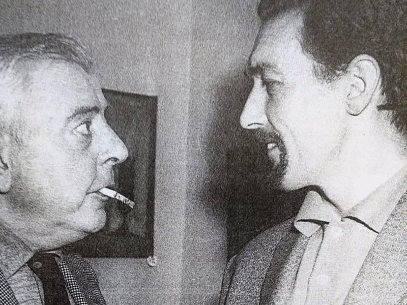 Franco Cardinali con Jacques Prevert